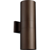 Quorum 721-2-86 Signature 2 Light 17 inch Oiled Bronze Outdoor Wall Mount