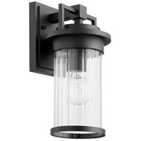 Dimas 1 Light 12 inch Noir Outdoor Wall Lantern