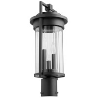 Quorum 7217-3-69 Dimas 3 Light 20 inch Noir Outdoor Post Lantern