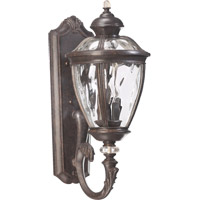 Quorum International Sloane 5 Light Outdoor Wall Lantern in Baltic Granite 7220-5-45