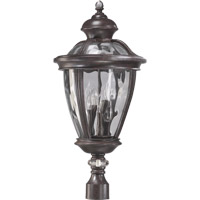 Quorum International Sloane 5 Light Post Lantern in Baltic Granite 7221-5-45