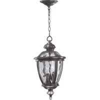 Quorum 7222-3-45 Sloane 3 Light 11 inch Baltic Granite Outdoor Hanging Lantern