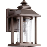 Quorum 7270-86 Crusoe 1 Light 9 inch Oiled Bronze Outdoor Wall Lantern