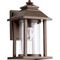 Quorum 7271-86 Crusoe 1 Light 12 inch Oiled Bronze Outdoor Wall Lantern