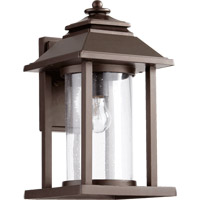 Quorum 7272-86 Crusoe 1 Light 16 inch Oiled Bronze Outdoor Wall Lantern