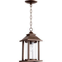Quorum 7273-86 Crusoe 1 Light 14 inch Oiled Bronze Outdoor Wall Lantern