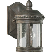 Quorum International Dauphine 1 Light Outdoor Wall Lantern in Etruscan Sienna 7280-1-43