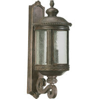 Quorum International Dauphine 4 Light Outdoor Wall Lantern in Etruscan Sienna 7280-4-43