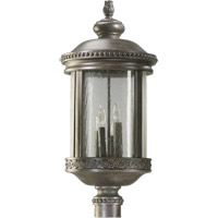 Quorum International Dauphine 4 Light Post Lantern in Etruscan Sienna 7282-4-43