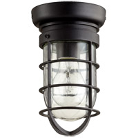 Quorum 7282-69 Bowery 1 Light 5 inch Noir Flush Mount Ceiling Light