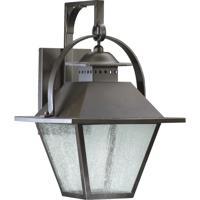 Quorum International Orleans 1 Light Outdoor Wall Lantern in Oiled Bronze 7300-11-86