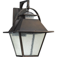 Quorum International Orleans 1 Light Outdoor Wall Lantern in Oiled Bronze 7300-13-86