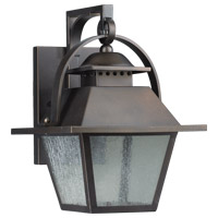 Quorum International Orleans 1 Light Outdoor Wall Lantern in Oiled Bronze 7300-9-86