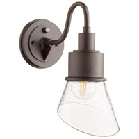 Quorum 732-86 Torrey 1 Light 13 inch Oiled Bronze Outdoor Wall Mount