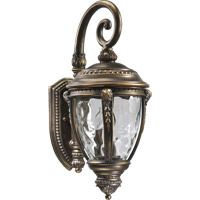 Quorum International Pemberton 3 Light Outdoor Wall Lantern in Bronze Patina 7320-3-39