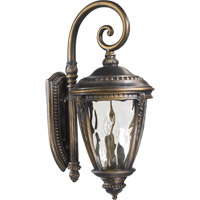 Pemberton 3 Light 30 inch Bronze Patina Outdoor Wall Lantern