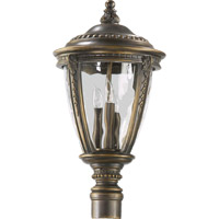 Pemberton 3 Light 25 inch Bronze Patina Post Lantern