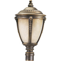 Quorum International Pemberton 1 Light Post Lantern in Bronze Patina 7325-3839