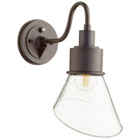Quorum 733-86 Torrey 1 Light 14 inch Oiled Bronze Outdoor Wall Mount