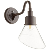 Quorum 734-86 Torrey 1 Light 16 inch Oiled Bronze Outdoor Wall Mount