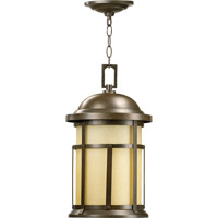 Quorum International Palomar 1 Light Outdoor Hanging Lantern in Oiled Bronze 7346-86