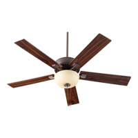 Rothman 52 inch Oiled Bronze with Reversible Teak and Walnut Blades Ceiling Fan