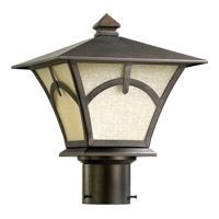 Quorum International Berkeley 1 Light Post Lantern in Oiled Bronze 7389-86