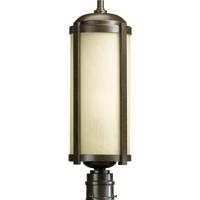 Quorum International Silo 1 Light Outdoor Wall Lantern in Oiled Bronze 7394-86