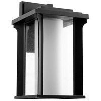 Quorum 7411-10-69 Garrett 1 Light 17 inch Noir Outdoor Wall Lantern
