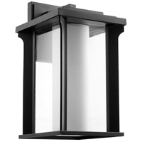 Quorum 7411-12-69 Garrett 1 Light 20 inch Noir Outdoor Wall Lantern