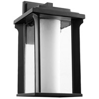 Quorum 7411-8-69 Garrett 1 Light 14 inch Noir Outdoor Wall Lantern