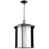 Quorum 7412-10-69 Garrett 1 Light 10 inch Noir Outdoor Pendant