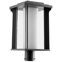 Quorum 7413-10-69 Garrett 1 Light 19 inch Noir Outdoor Post Lantern