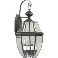 Quorum 743-4-36 Carrington 4 Light 23 inch Bronze Outdoor Wall Lantern
