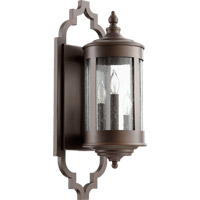 Quorum 745-3-86 Mayfair 3 Light 23 inch Oiled Bronze Outdoor Wall Lantern