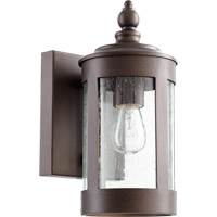 Mayfair 1 Light 11 inch Oiled Bronze Outdoor Wall Lantern