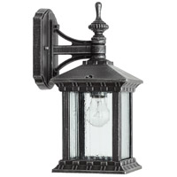 Quorum 7461-72 Huxley 1 Light 13 inch Rustic Silver Outdoor Wall Lantern