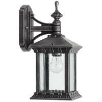 Quorum 7461-72 Huxley 1 Light 13 inch Rustic Silver Outdoor Wall Lantern
