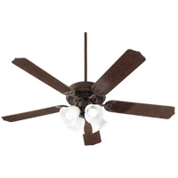 Quorum 7525-144 Capri IX 52 inch Toasted Sienna with Toasted Sienna/Walnut Blades Indoor Ceiling Fan