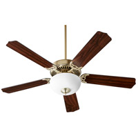 Quorum 7525-9080 Capri VIII 52 inch Aged Brass Ceiling Fan