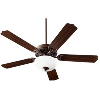 Quorum 7525-9086 Capri VIII 52 inch Oiled Bronze with Oiled Bronze/Walnut Blades Indoor Ceiling Fan