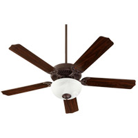 Quorum 7525-9244 Capri VIII 52 inch Toasted Sienna with Toasted Sienna/Walnut Blades Indoor Ceiling Fan