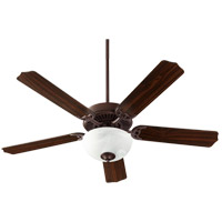 Quorum 7525-9286 Capri VIII 52 inch Oiled Bronze with Oiled Bronze/Walnut Blades Indoor Ceiling Fan