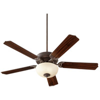 Quorum 7525-9644 Capri VIII 52 inch Toasted Sienna with Toasted Sienna/Walnut Blades Indoor Ceiling Fan