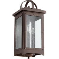 Quorum 757-4-86 Riverdale 4 Light 22 inch Oiled Bronze Outdoor Wall Lantern