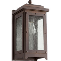 Quorum 757-86 Riverdale 1 Light 11 inch Oiled Bronze Outdoor Wall Lantern