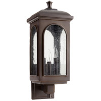 Fuller 8 inch Oiled Bronze Outdoor Wall Lantern