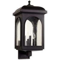 Quorum 7603-4-69 Fuller 4 Light 23 inch Noir Outdoor Wall Lantern