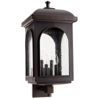 Fuller 23 inch Oiled Bronze Outdoor Wall Lantern