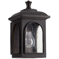Quorum 7603-69 Fuller 1 Light 6 inch Noir Outdoor Wall Lantern